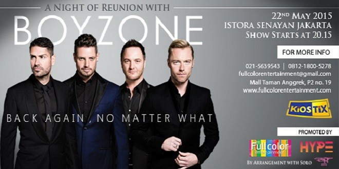 A Night of Reunion With Boyzone