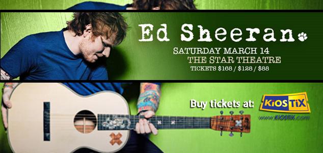 Ed Sheeran Live in Kuala Lumpur 2015