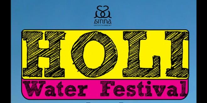 Holi Water Festival 2015