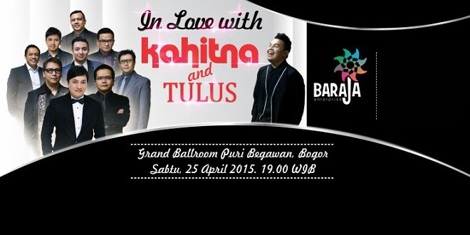 In Love With Kahitna And Tulus