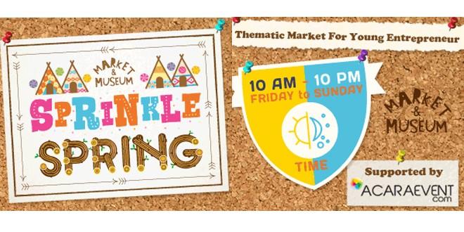 Market & Museum Sprinkle Spring