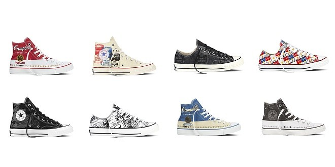 Converse Chuck Taylor All Star Andy Warhol