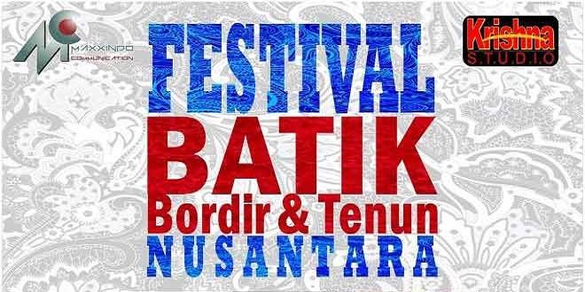 Festival batik Bordir dan Tenun Nusantara 2015