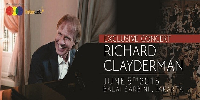 Eksklusif Konser Pianis Richard Clayderman 2015
