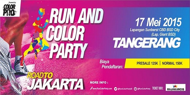 Run and Color Party Tangerang