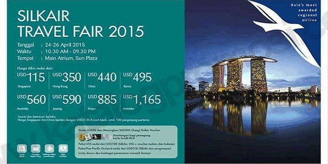 Silkair Travel Fair 2015