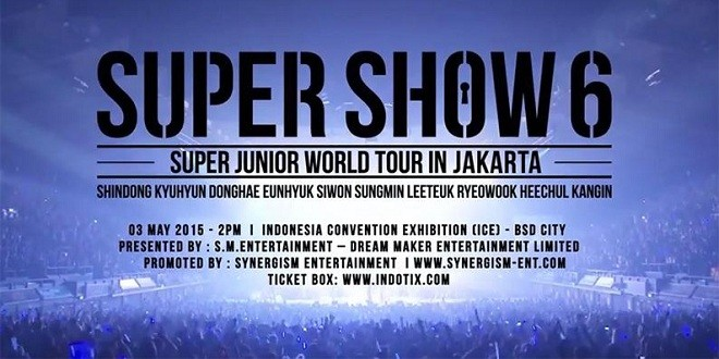 Super Junior World Tour in Jakarta 2015