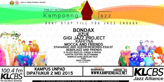 The 7th International Kampoeng Jazz