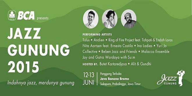 Jazz Gunung 2015