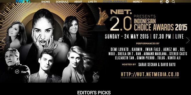 NET 2.0 Indonesian Choice Awards