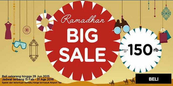 Air Asia Ramadhan Big Sale