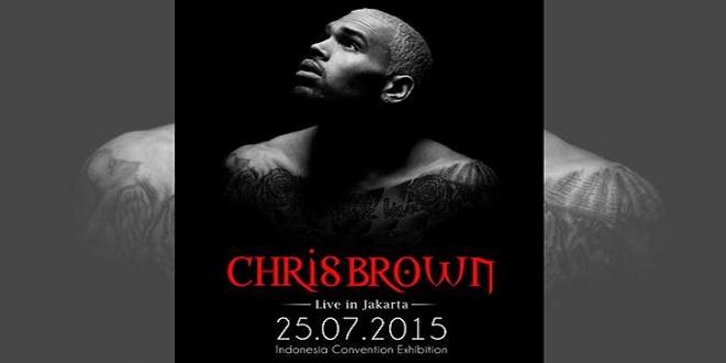 Chris Brown Live in Jakarta 2015