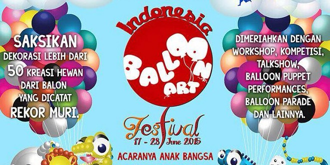Indonesia Balloon Art Festival