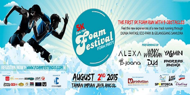 5K Fun Run Foam Festival