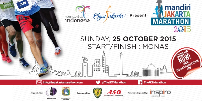 Mandiri Jakarta Marathon 2015