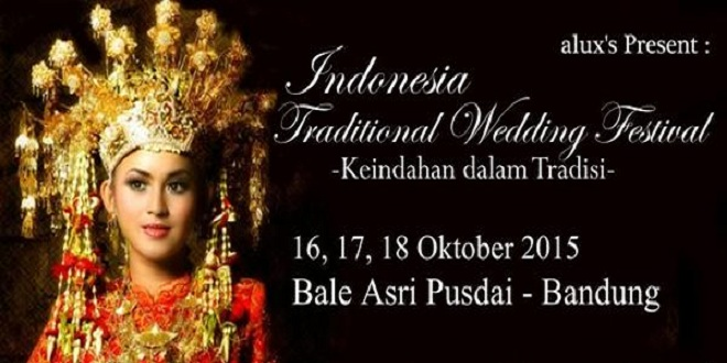 Indonesia Traditional Wedding Festival 2015