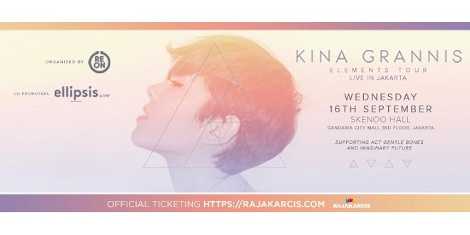 Kina Grannis Elements Tour Live In Jakarta