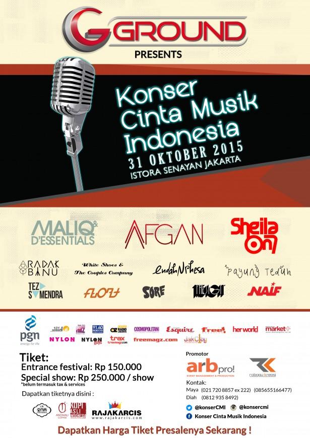 Konser Cinta Musik Indonesia