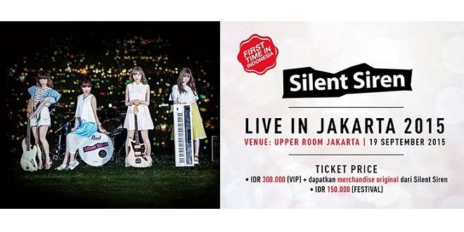Silent Siren Live in Jakarta