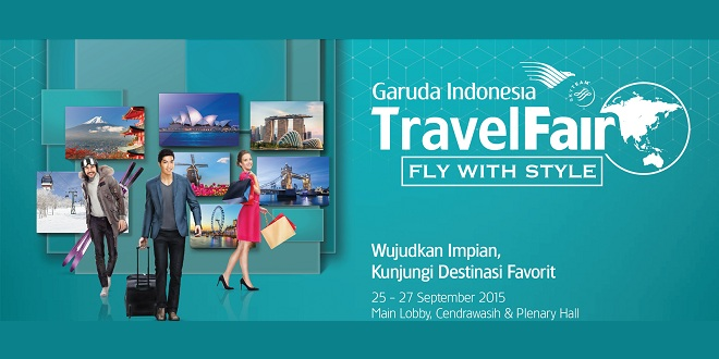 Garuda Indonesia Travel Fair September 2015