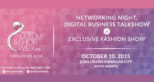 Indonesia Muslim Fashion Week 2015
