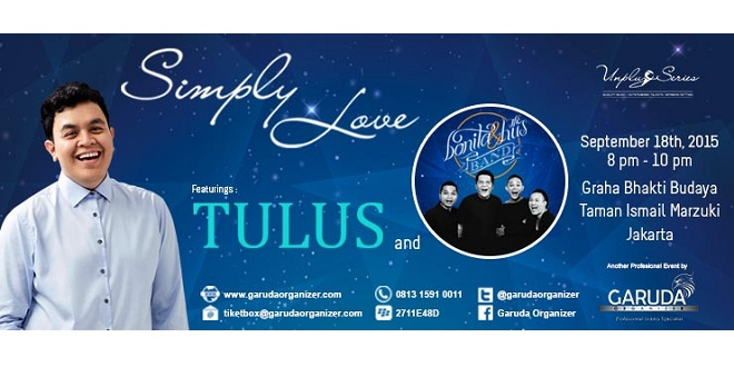 Simply Love Tulus and Bonita & The Husband