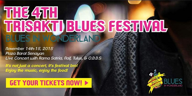 The 4th Trisakti Blues Festival 2015