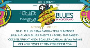 Trisakti Blues Festival 2015