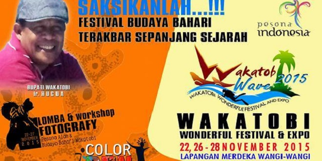 Wakatobi Wonderful Festival & Expo 2015