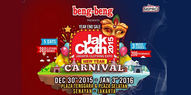 Jakcloth New Year Carnival 2015
