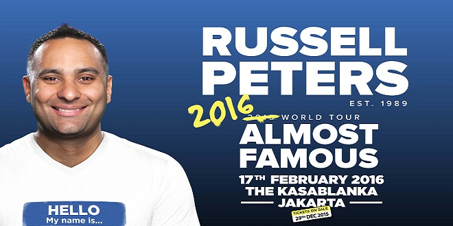 Russell Peters Almost Famous