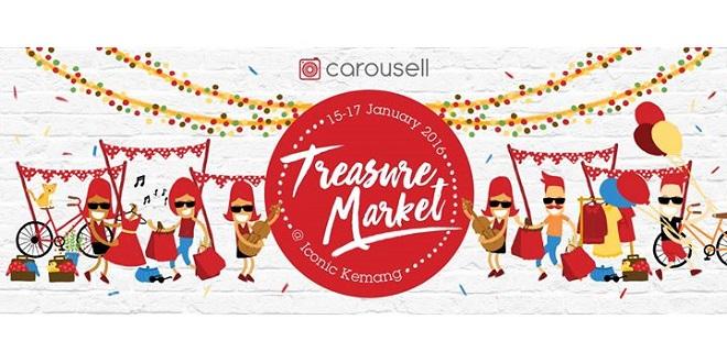 Carousell Treasure Market Jakarta