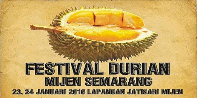 Festival Durian Mijen Semarang