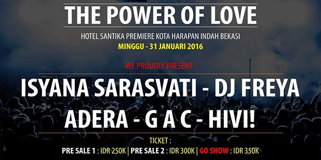 Music Concert - The Power of Love