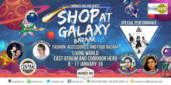 Shop at Galaxy Bazaar Living World