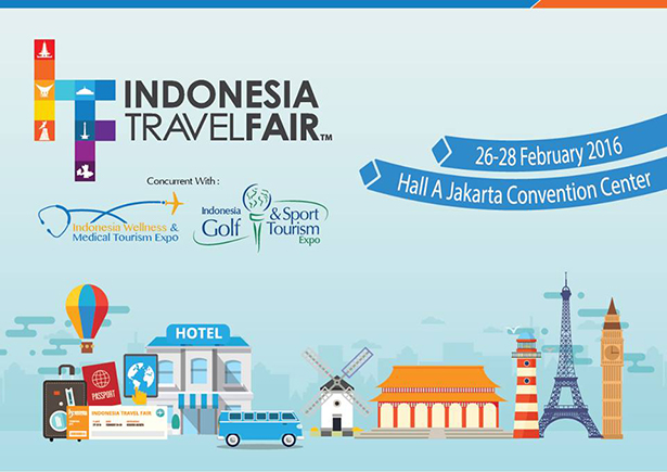 Indonesia Travel Fair 2016
