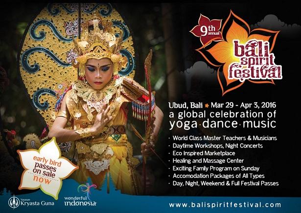 Bali Spirit Festival 2016