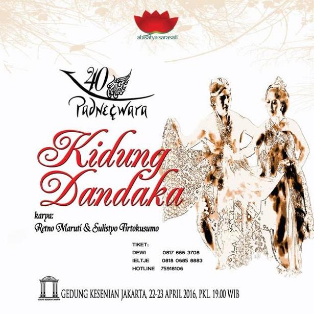Opera Jawa 'Kidung Dandaka'