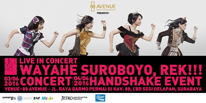 JKT48 Live in Concert Wayahe Suroboyo