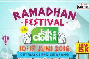 JakCloth Ramadhan Festival 2016
