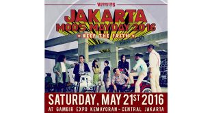 Jakarta Mods Mayday 2016