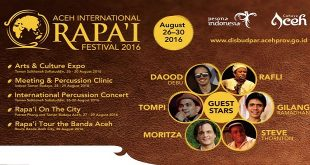 Aceh International Rapai Festival 20161