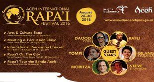 Aceh International Rapai Festival 20161