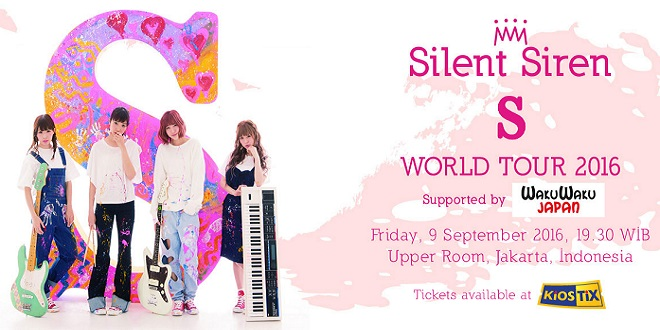 Silent Siren World Tour 20161