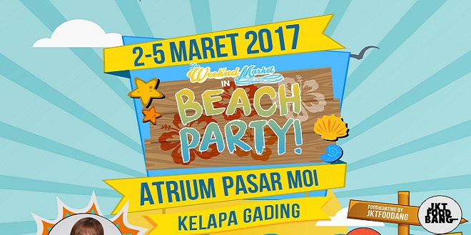 """The WeeThe Weekend Market Presents """"BEACH PARTY""""kend Market Presents """"BEACH PARTY"""""""