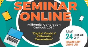 Seminar Online Millennial Generation Outlook 2017