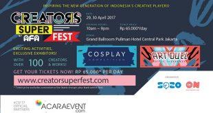 Creators Super Fest 2017