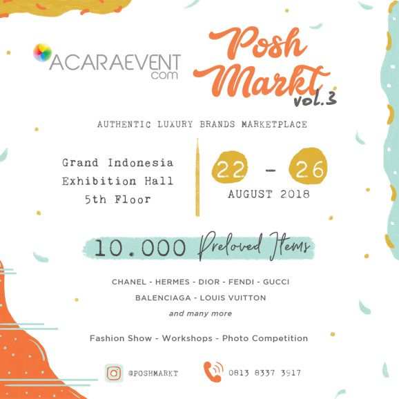 Posh Markt Vol.3 E-flyer - Acara-event.com