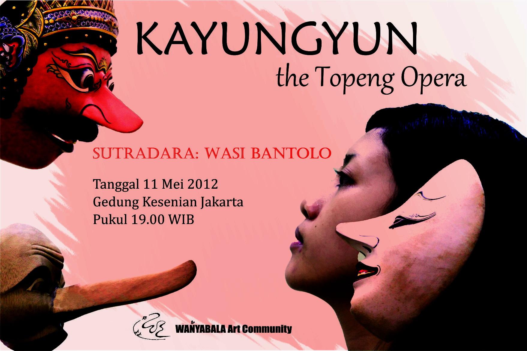 Kayungyun - The Topeng Opera