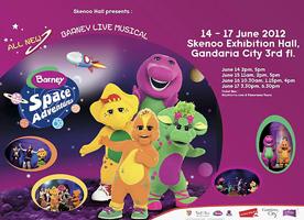 Barney Live Musical